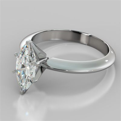 Marquise Cut 6-Prong Tiffany Style Engagement Ring